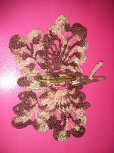 Broche Mariposa Bicolor