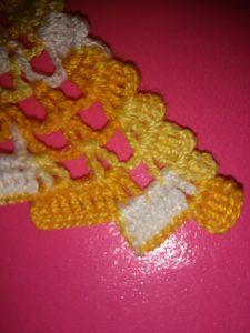 Otro tipo de Mariposa a Crochet a dos Colores