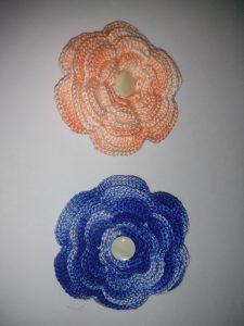 Más Flores a Ganchillo